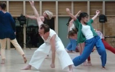 Un petit mot enthousiasmant d'une nouvelle inscrite à la formation Danser l'Espace