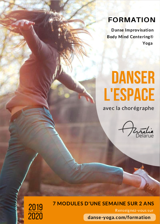 formation danse, yoga, body-mind centering