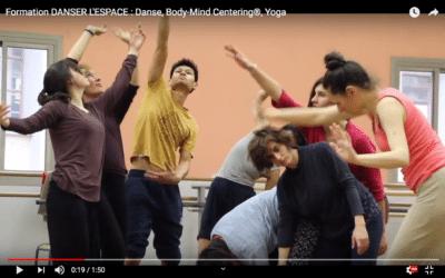 La formation DANSER L'ESPACE est sur Youtube !
